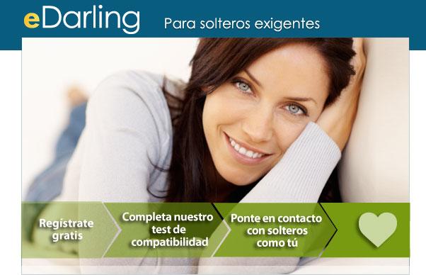 eDarling Para solteros exigentes ❶ Regístrate gratis ❷ Completa nuestro test de compatibilidad &10104 Ponte en contacto con solteros como tú